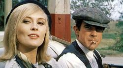 Faye Dunaway as Bonnie Parker and Warren Beatty as Clyde Barrow in Bonnie & Clyde.