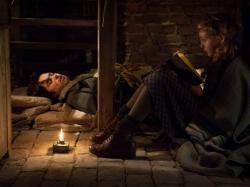 Ben Schnetzer and Sophie Nelisse in The Book Thief