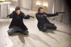 Sean Patrick Flannery and Norman Reedus in The Boondock Saints