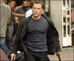 Matt Damon in The Bourne Ultimatum.