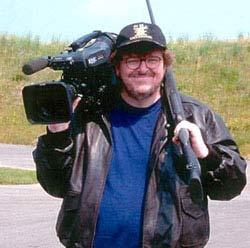Michael Moore in Bowling for Columbine.