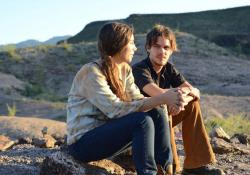 Ellar Coltrane as Mason grows up before our eyes in Boyhood.