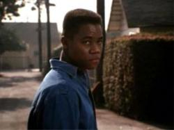 Cuba Gooding Jr. in Boyz in the Hood.