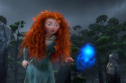 Kelly Macdonald provides the voice of Princess Merida in Pixar's Brave.