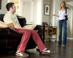 Vince Vaughn and Jennifer Aniston in The Break-Up.