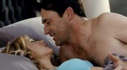 Kristen Wiig and Jon Hamm do it, in Bridesmaids