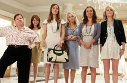 The talented ensemble cast of Bridesmaids.