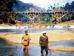 Alec Guinness and Sessue Hayakama in The Bridge on the River Kwai