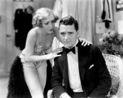 Bessie Love and Charles King in The Broadway Melody