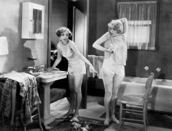 Bessie Love and Anita Page get undressed (often) in The Broadway Melody.