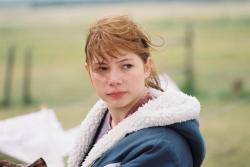 Michelle Williams in Brokeback Mountain.