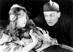 Lillian Gish and Richard Barthelmess in Broken Blossoms.