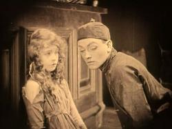 Lillian Gish and Richard Barthelmess in Broken Blossoms