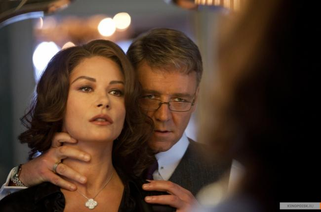 Catherine Zeta-Jones and Russell Crowe in Broken City