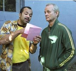 Jeffrey Wright and Bill Murray in Broken Flowers.