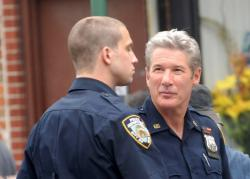 Logan Marshall-Green and Richard Gere as Brooklyn's Finest.