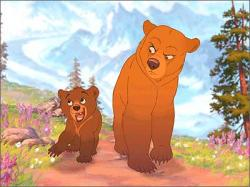 Walt Disney's Brother Bear.