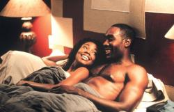 Gabrielle Union and Morris Chestnut in The Brothers.
