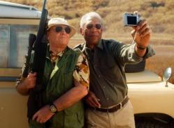 Jack Nicholson and Morgan Freeman in The Bucket List.