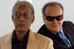 Morgan Freeman and Jack Nicholson in The Bucket List.