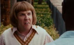 Nick Swardson as Bucky Larson in Bucky Larson: Born to be a Star.