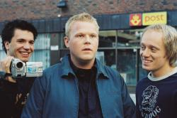 Nicolai Cleve Broch, Anders Baasmo Christiansen and Aksel Hennie in Buddy.