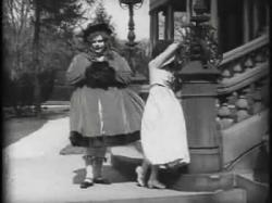 Fatty Arbuckle as Candy and Josephine Stevens as Amanda.