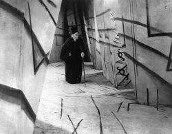 Werner Krauss in The Cabinet of Dr. Caligari.