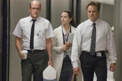 Richard Jenkins, Amy Acker and Bradley Whitford in Cabin in the Woods.