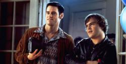 Jim Carrey and Jack Black in The Cable Guy