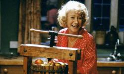 Helen Mirren in Calendar Girls.