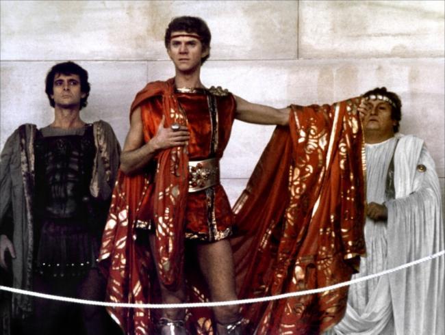 Malcom McDowell in Caligula.
