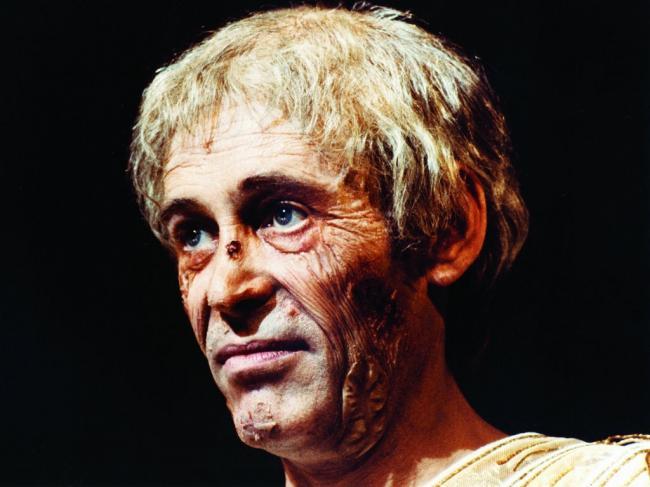 Peter O'Toole in Caligula.