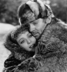 Loretta Young and Clark Gable in The Call of the Wild.