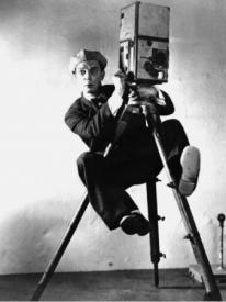 Buster Keaton as The Cameraman
