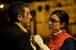 Ricardo Daran and Martina Gusman in Carancho.