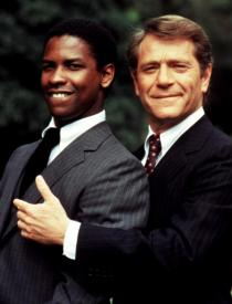 Denzel Washington and George Segal in Carbon Copy
