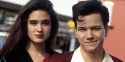 Jennifer Connelly and Frank Whaley in Career Opportunities.