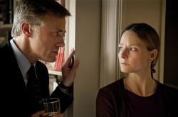 Christoph Waltz and Jodie Foster in Carnage