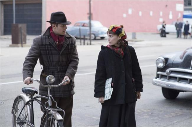 Jake Lacy and Rooney Mara in Carol