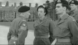 William Hartnell and Charles Hawtrey in Carry on Sergeant