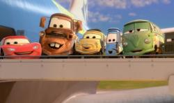 The gang returns in Cars 2.