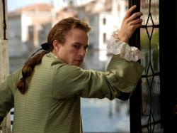Heath Ledger in Casanova.