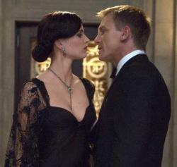 Eva Green and Daniel Craig in Casino Royale.