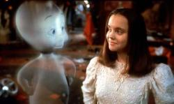 A friendly ghost and Christina Ricci in Casper.