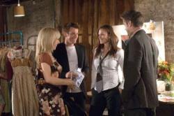 Sally Hawkins, Ewan McGregor, Haley Atwell and Colin Farrell in Cassandra's Dream.