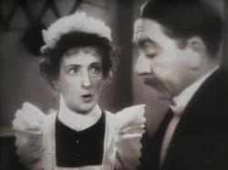 Una O'Connor and Herbert Mundin in Cavalcade