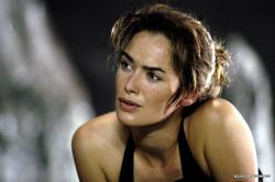 Lena Headey in The Cave.