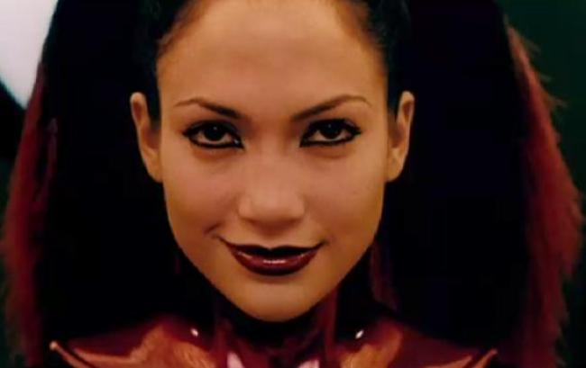 Jennifer Lopez in The Cell.