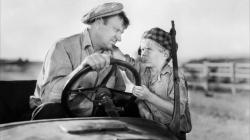Wallace Beery and Jackie Cooper in The Champ.